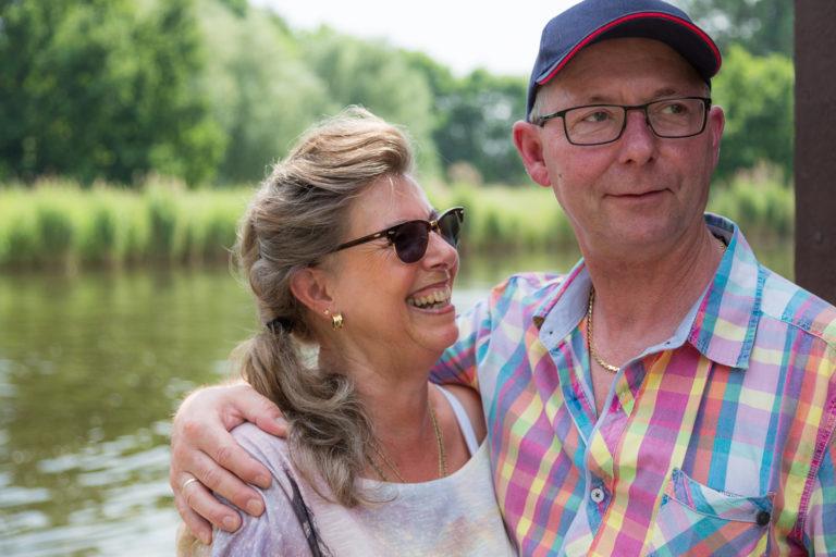 Bild vom Ehepaar an der Dove.